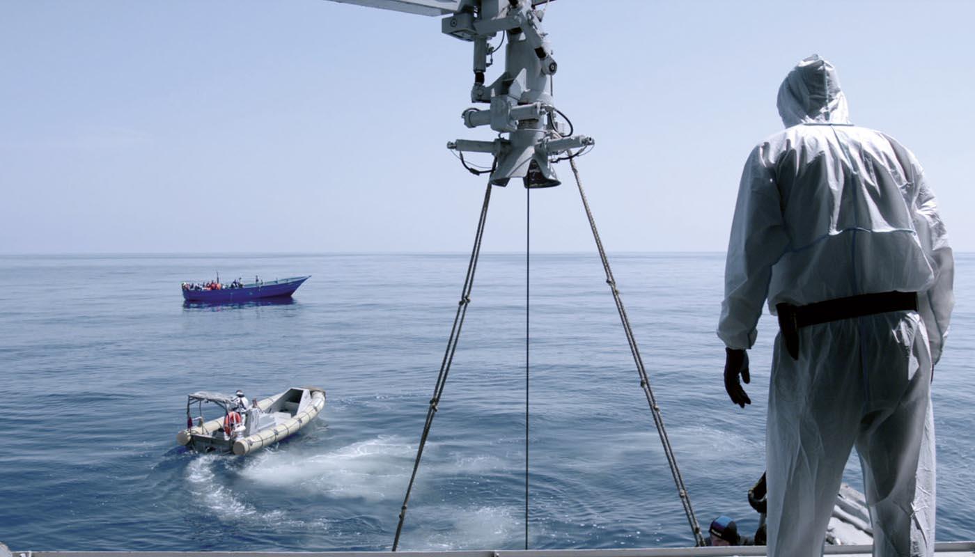 Image du film Fuocoammare, par-delà Lampedusa