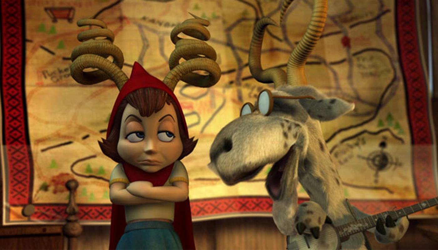 Image du film La Véritable histoire du petit chaperon rouge