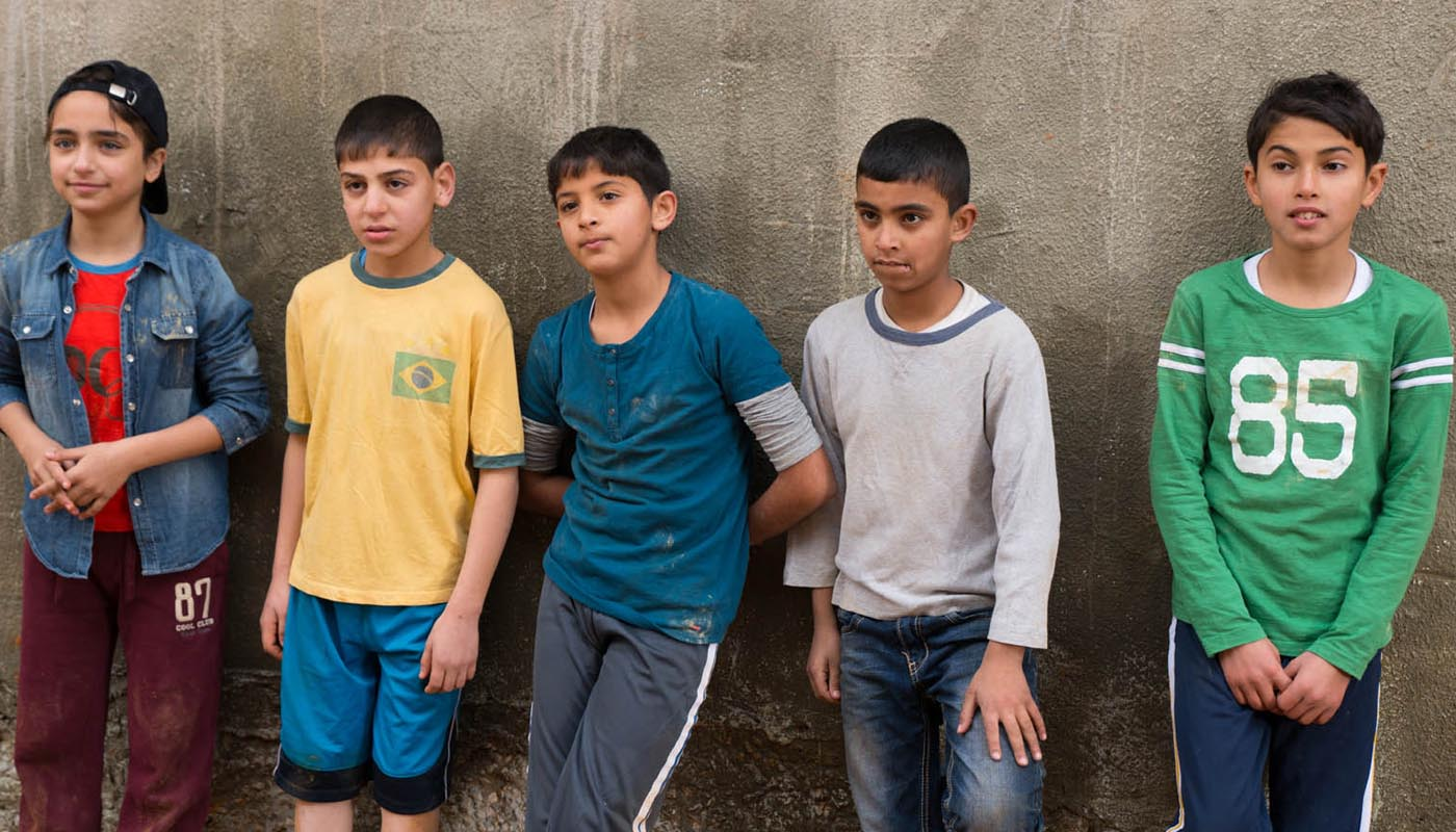 Image du film Le Chanteur de Gaza