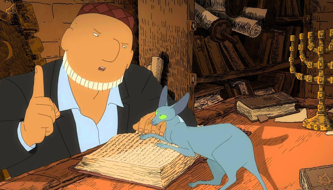 Image du film Le Chat du Rabbin
