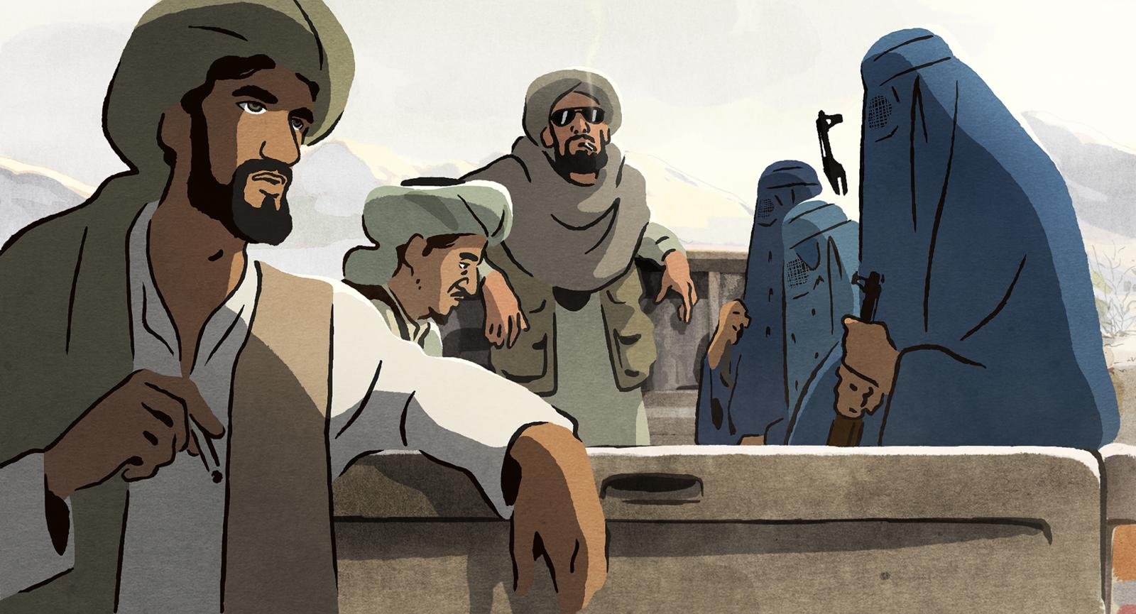 Image du film Les Hirondelles de Kaboul