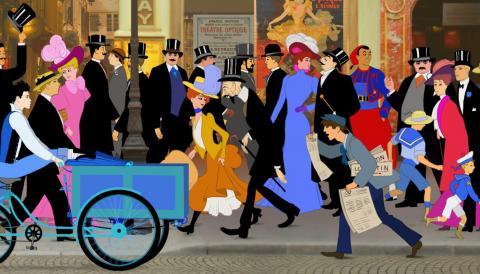 Image du film Dilili à Paris